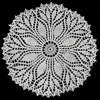 Bluebell Crafts Crochet Doily Free Vintage Pattern