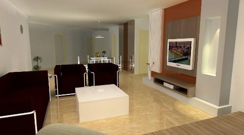 Semua orang niscaya akan merasa bahagia mempunyai ruang menonton TV Ruang TV Minimalis Modern