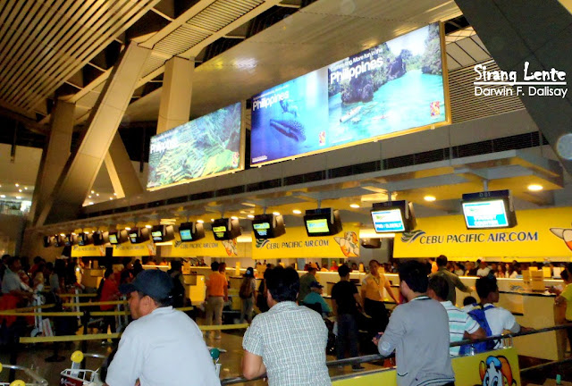 Cebu Pacific check In Counters