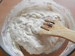 step 2 Scalded flour (Poolish)- Natural dough conditioner