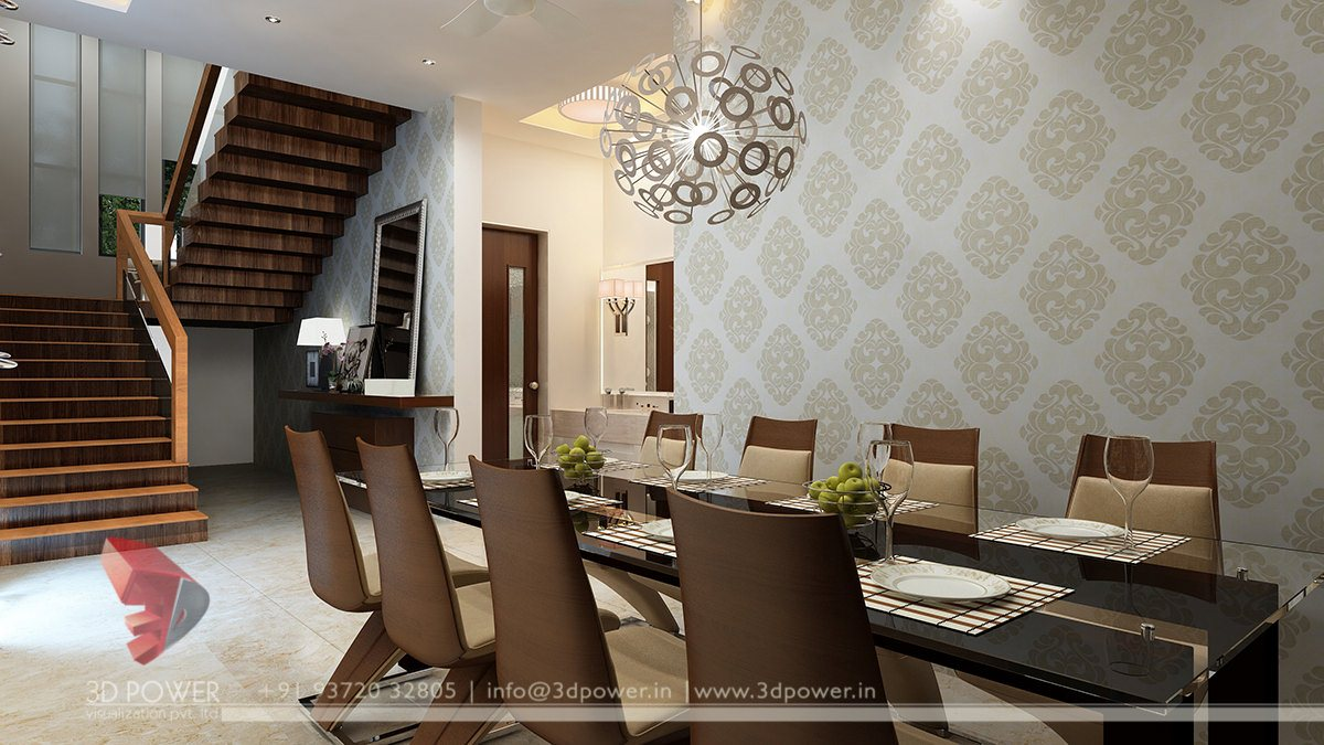 3D Interior Designs | Interior Designer: Dining Room