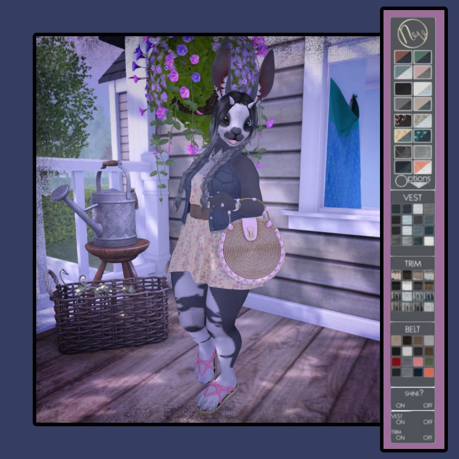 Cala's SecondLife Furry Fashion Blog