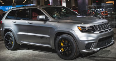 2018 Jeep Grand Cherokee Trackhawk price : New York Auto Show 2017