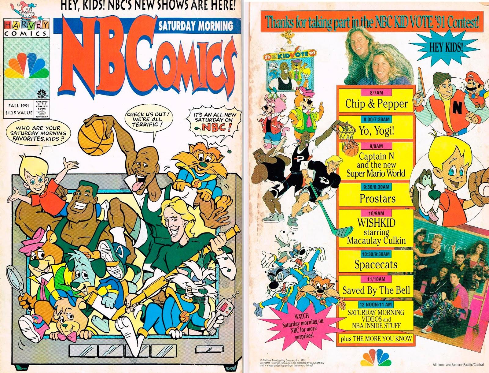 20 years before 2000 1991 saturday morning nbcomics