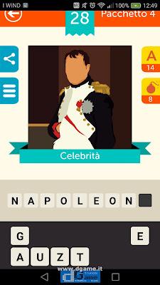 Iconica Italia Pop Logo Quiz soluzione pacchetto 4 livelli 28-75