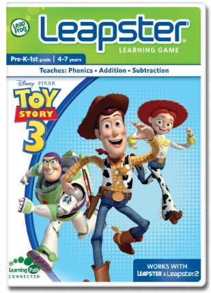 My South Central Texas Mommy Leapster Toy Story 3