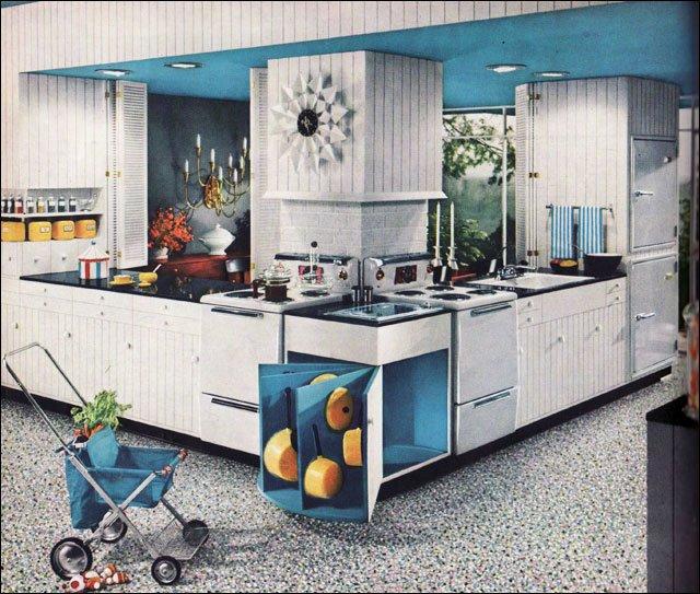 Mid Century Kitchen Cabinets: Mid2Mod: Mid-century Kitchens