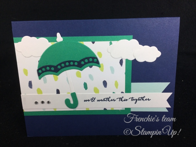 Weather Together, Stampin'Up!, Frenchie Team