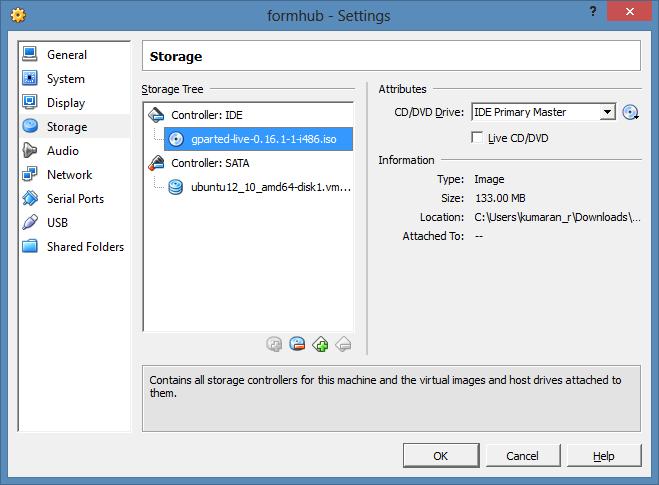 Random Tips: VirtualBox Resize/Increase VDI Disk space