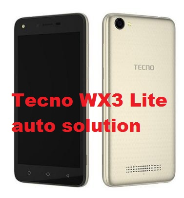 Tecno WX3 Lite auto off when Sim inserted solution