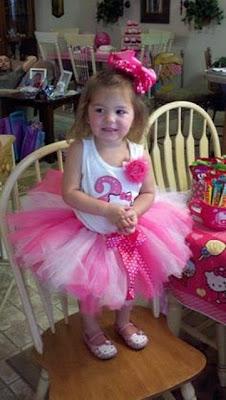 Gambar dress tutu cantik untuk anak perempuan