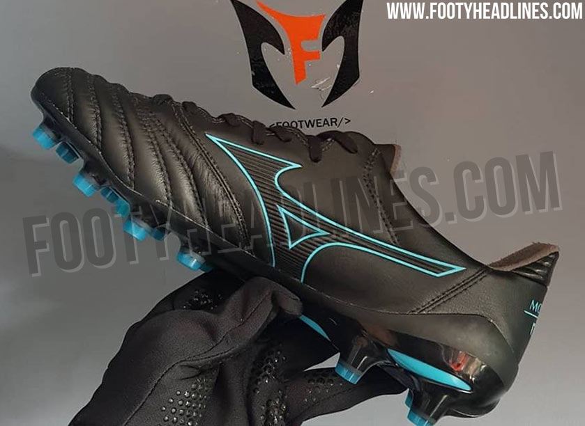 newest 82642 35cd3 Stunning Black / Turquoise Mizuno Morelia Neo 2 2019 Boots ...