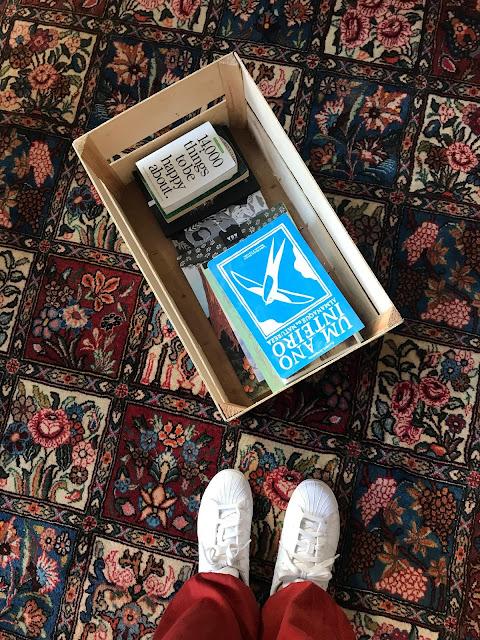 A Semana em Flashes armazém de ideias ilimitada livros em caixa livro debaixo da asa