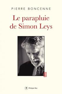 Le parapluie de Simon Leys Pierre Boncenne