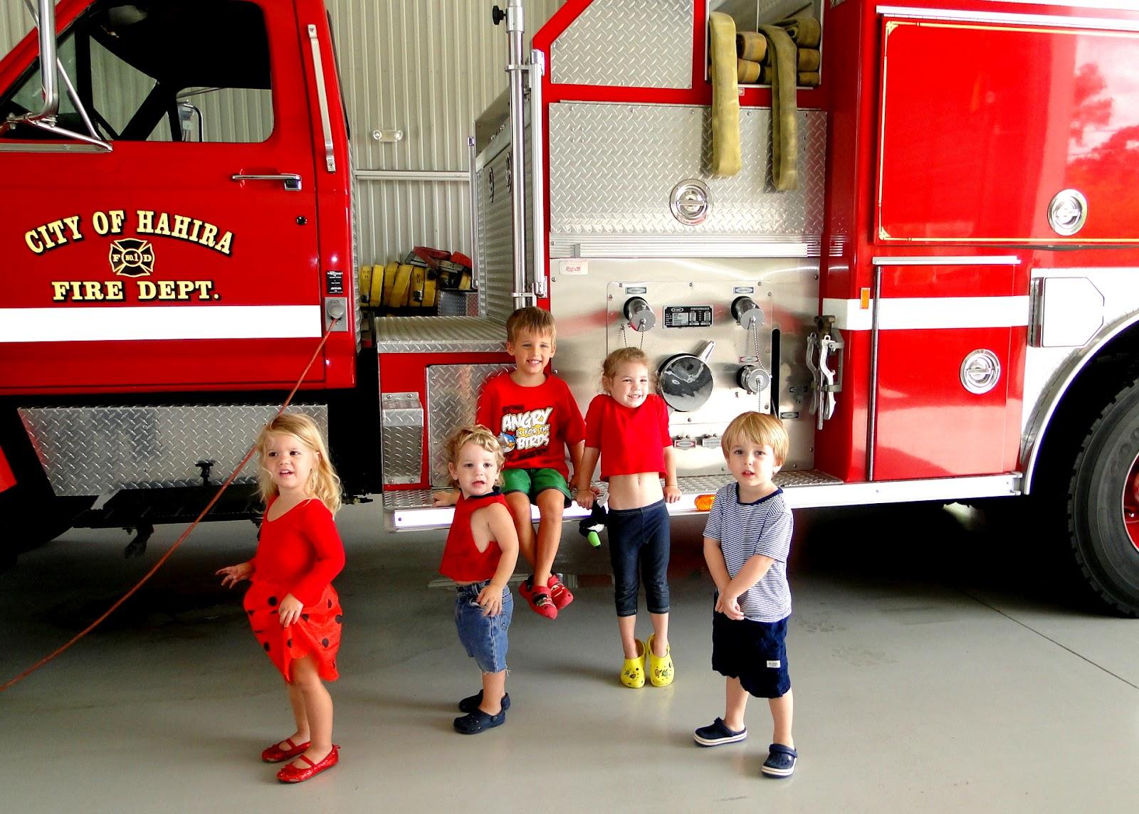 Fire Station Visit 2012