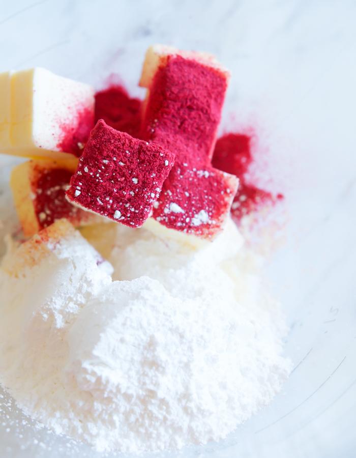 Raspberry Meltaway Cookies - Bake at 350°