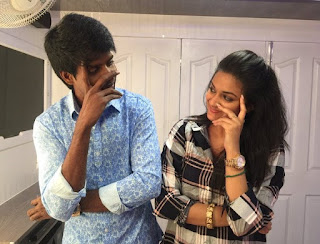 Keerthy Suresh wishing Happy Birthday to Soori