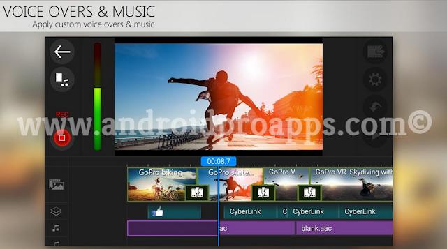 تطبيق PowerDirector Video Editor Pro - اخر اصدار نسخة كاملة !