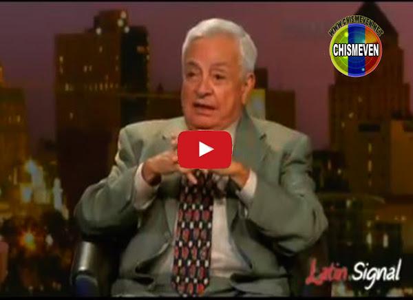 General Carlos Peñaloza cuenta los detalles de la masacre del Junquito