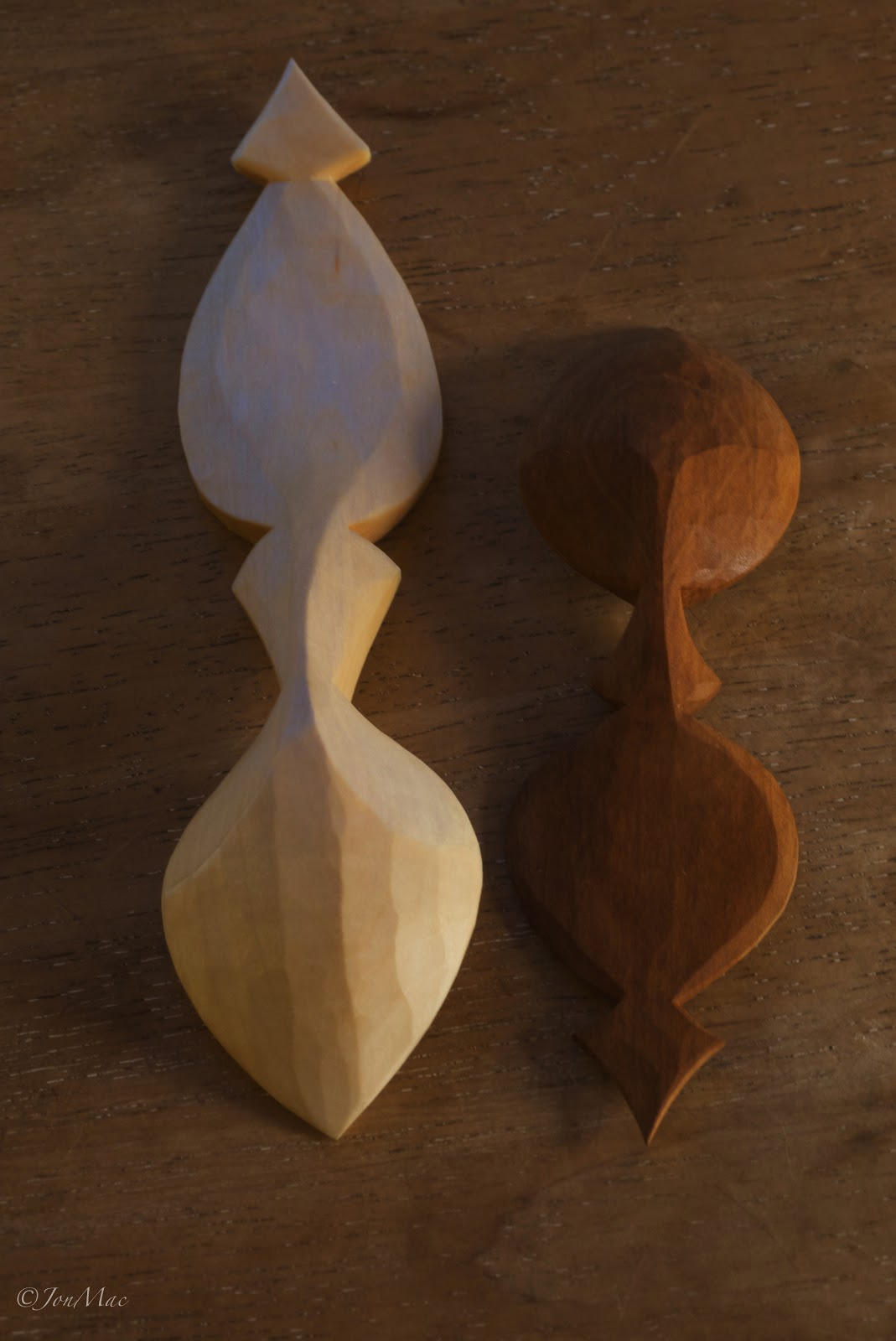 spoon carving+whittling spoons
