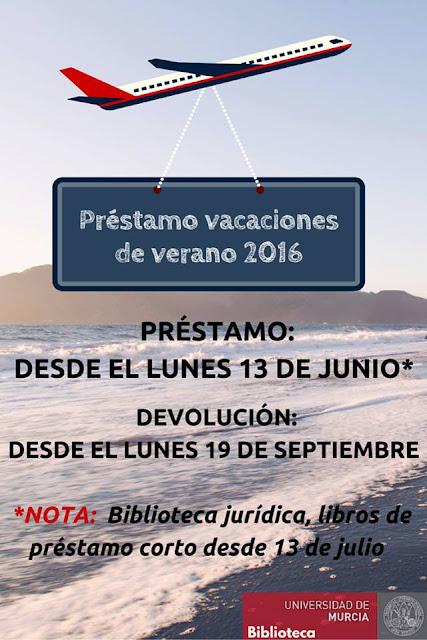 A partir del lunes 13 de junio, puedes hacer uso del préstamo de vacaciones de verano.