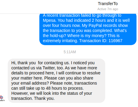 Why You Should Avoid Safaricom's PayPal to Mpesa Like the