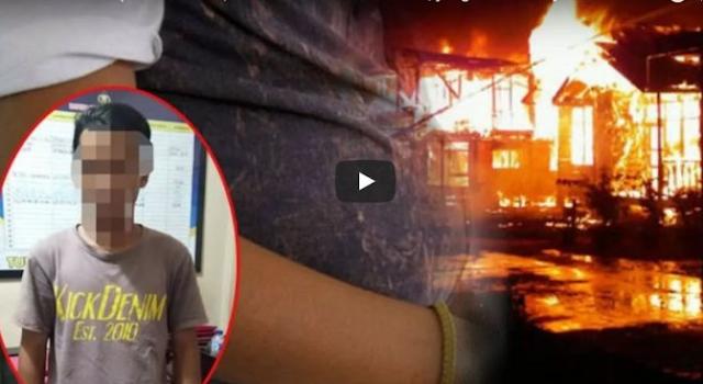 Hati Terbakar Api Cemburu, Pria Ini Nekat Bakar Rumah Mantan Pacar Biar Adil.