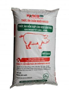 HascoFeed: Giới thiệu hỗn hợp dành cho Heo siêu nạc (12-30kg)