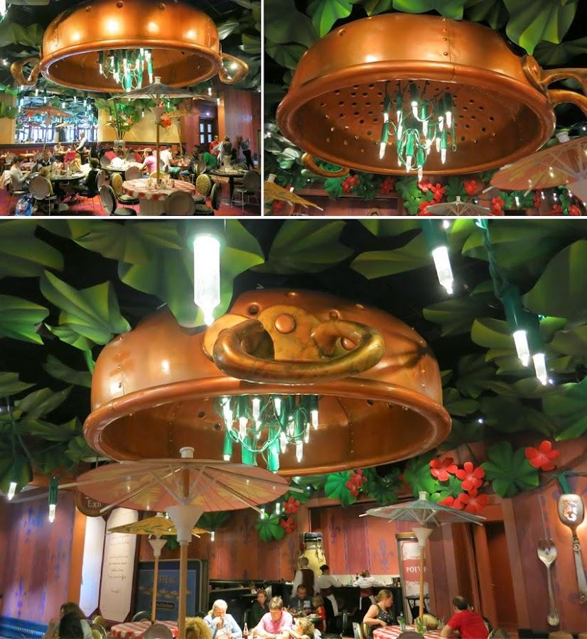 Restaurante Bistrot Che Rémy_lampara cazuela