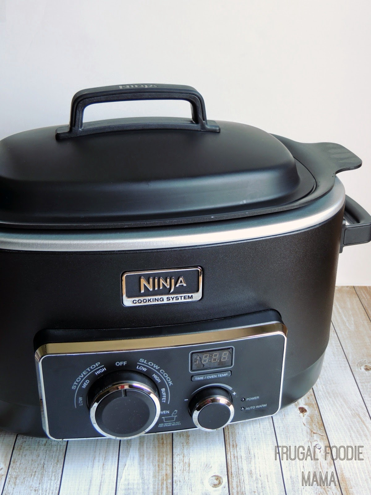 Ninja 3-in-1 Cooking System Review via thefrugalfoodiemama.com