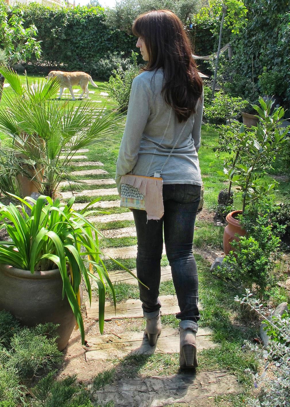 telas recicladas, bolsos en tela, bolsos, handmade, hecho a mano, moda sostenible, slowfashion