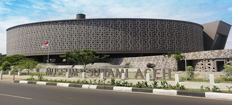 OBJEK WISATA MUSEUM TSUNAMI KOTA BANDA ACEH PROVINSI NANGGROE ACEH DARUSSALAM (NAD)