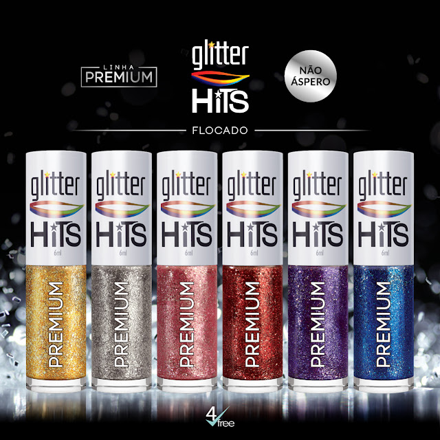Coleção Glitter Flocado da Hits Speciallità