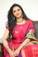 Manasa in Pink Salwar At Fashion Designer Son of Ladies Tailor Press Meet Pics ~  Exclusive 49.JPG