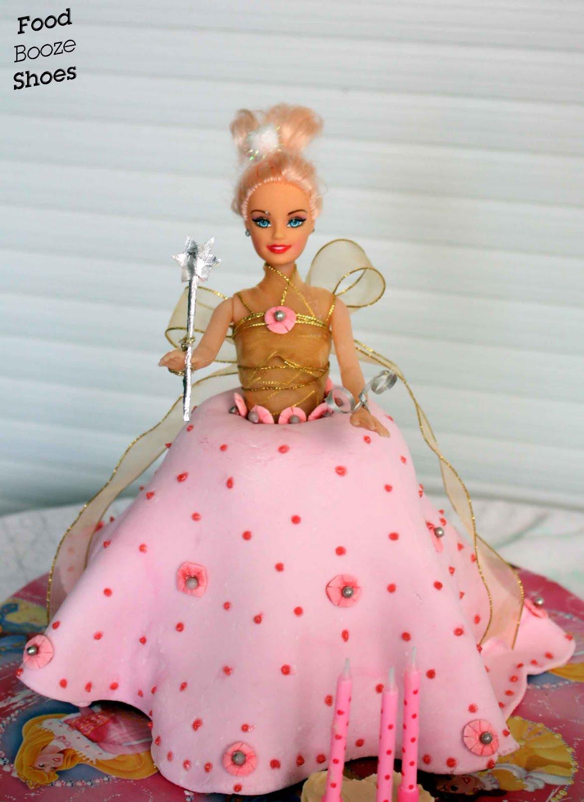 Barbie Games Cake Shop