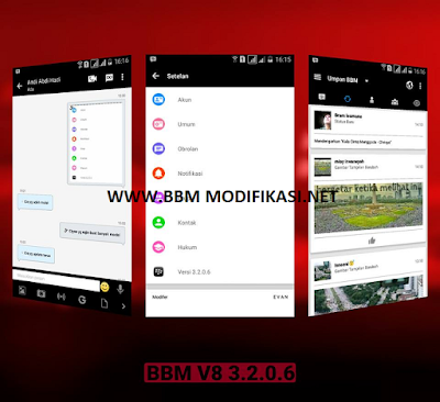 Download BBM V8 Versi 3.2.0.6 APK + BBM2