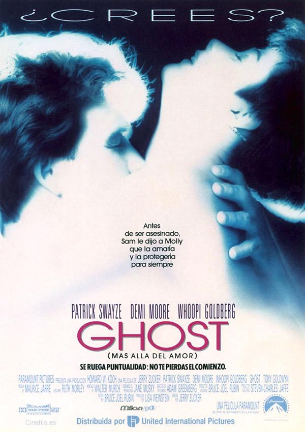 Ghost, más allá del amor Cartel