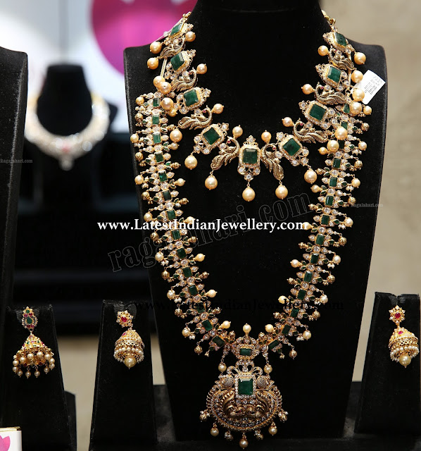 Emerald CZ Combination Jewellery