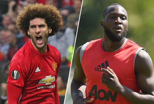 Fellaini dan Lukaku