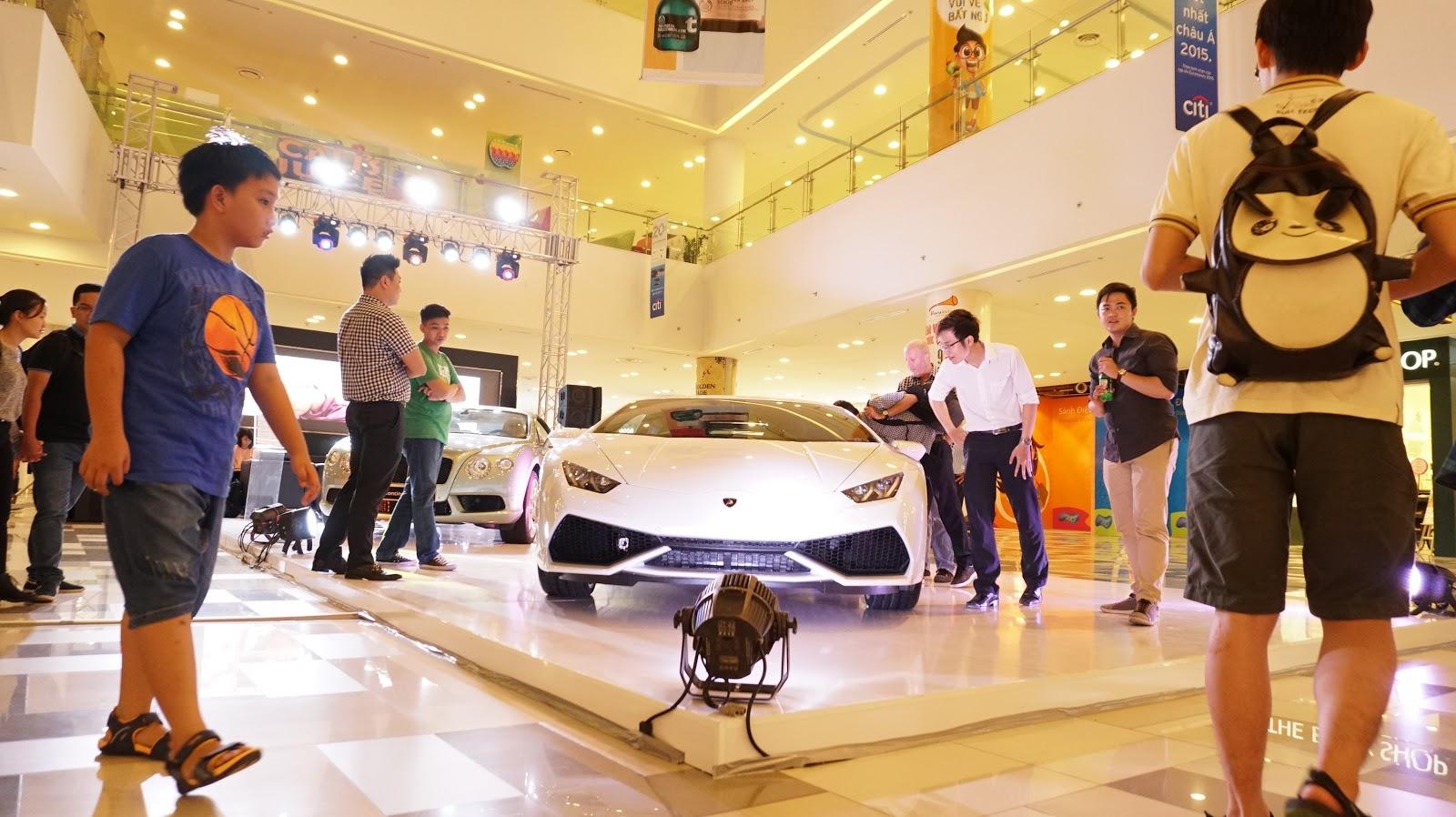 Dự kiến có thể chiếc chiếc Lamborghini Huracan LP610 4 White sẽ được bàn giao cho một khách hàng trong đợt trưng bày này