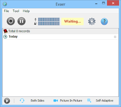Screenshot Evaer Video Recorder for Skype 1.8.1.26 Full Version