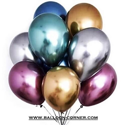 Balon Latex Chrome (QUALATEX)