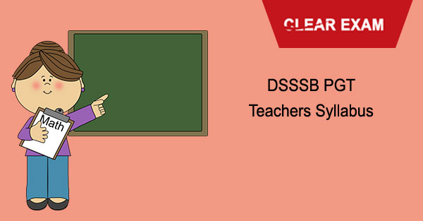 DSSSB PGT Teachers Syllabus