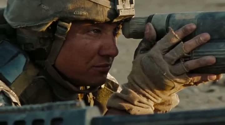 Screen Shot Of The Hurt Locker (2008) Dual Audio Movie 300MB small Size PC Movie
