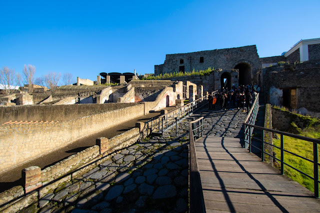 Porta marina-Scavi di Pompei
