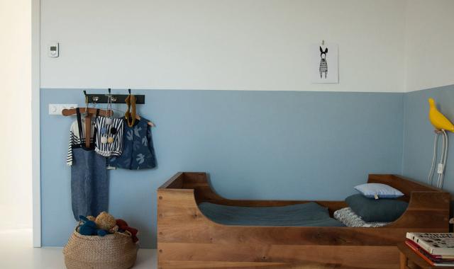 Nordic Blue Room