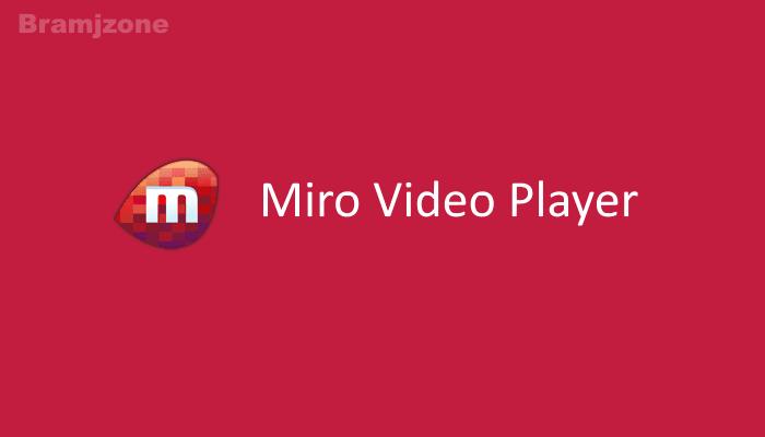 ميرو بلير لتشغيل جميع أنواع الفيديو