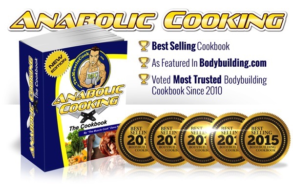 [$10 OFF] Anabolic Cooking Review – Is it the Best Muscle Building Cookbook?