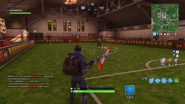 Fortnite Battle Royale - Where To Go To Score A Goal On Different Pitches in Fortnite