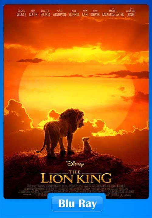 The Lion King 2019 720p BluRay Hindi English x264 | 480p 300MB | 100MB HEVC Poster